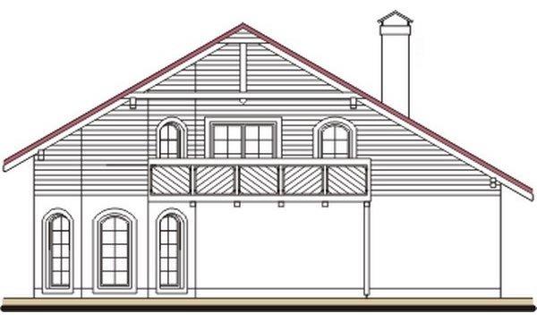 Pohľad 4. - Exkluzívny dom s dvomi izbami na prízemí a obytným podkrovím