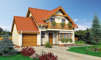 Rodinný dom vhodný do radovej zástavby alebo ako dvojdom