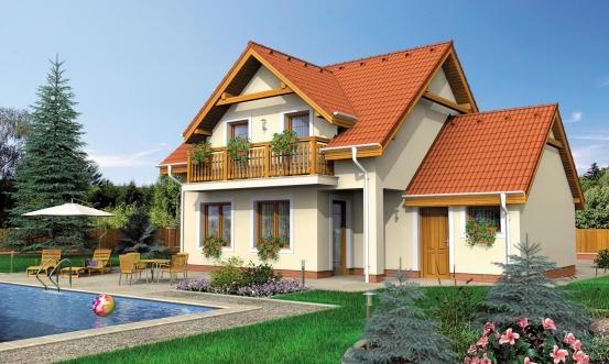 projekt domu KLASSIK 156