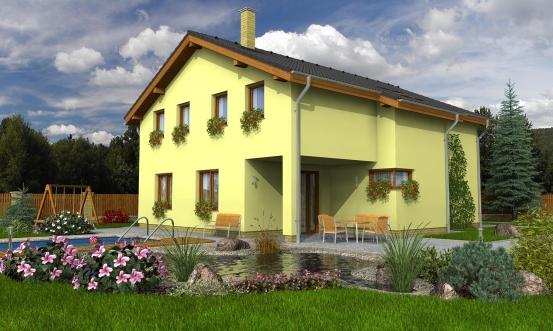 projekt domu KLASSIK 160