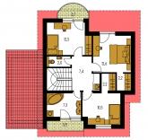 Pôdorys poschodia - KLASSIK 161