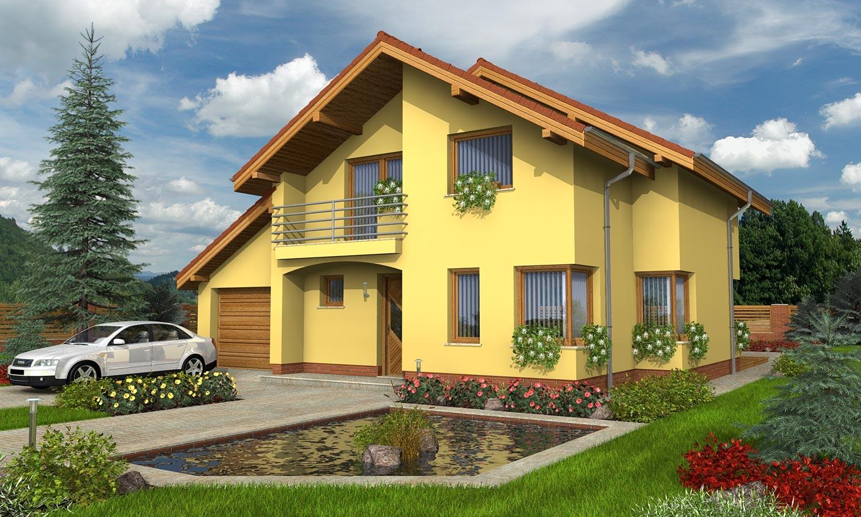 projekt domu KLASSIK 161
