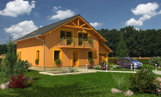 projekt domu KLASSIK 162