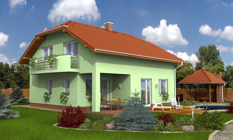 projekt domu KLASSIK 163