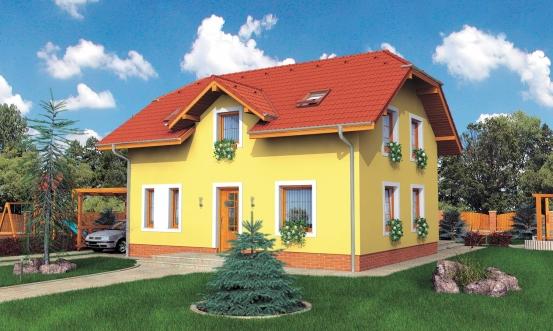 projekt domu KLASSIK 167