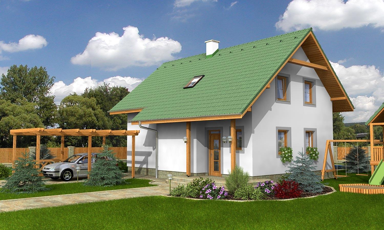 projekt domu KLASSIK 170