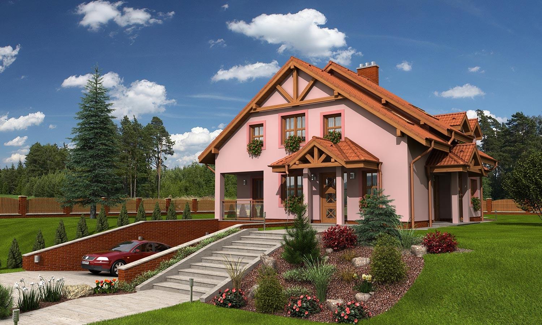 projekt domu KLASSIK 180