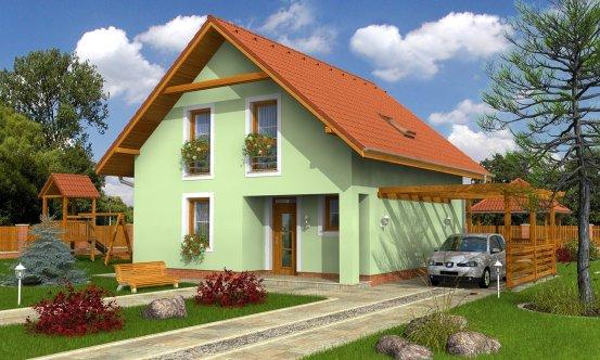 projekt domu KOMPAKT 34