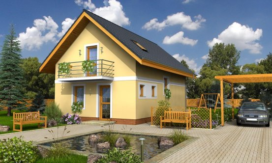 projekt domu KOMPAKT 35