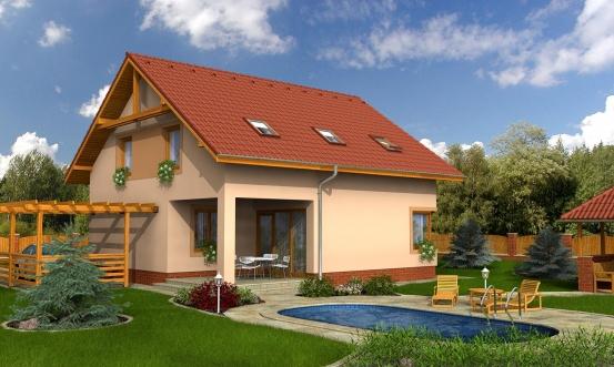 projekt domu KOMPAKT 36