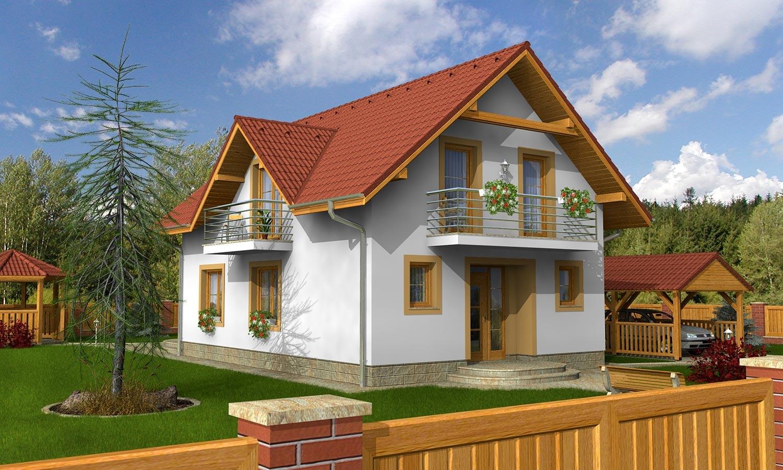 projekt domu KOMPAKT 37
