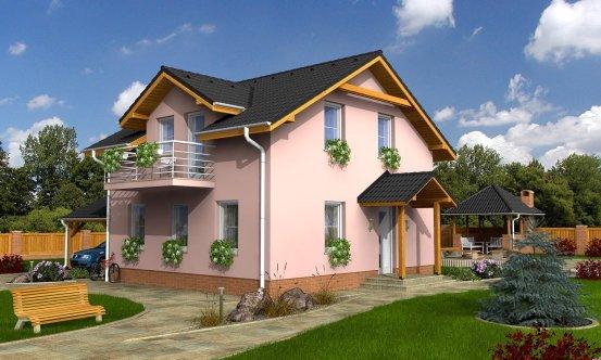 projekt domu KOMPAKT 39