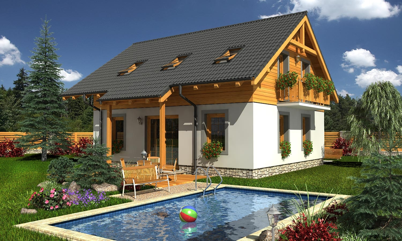 projekt domu KOMPAKT 40