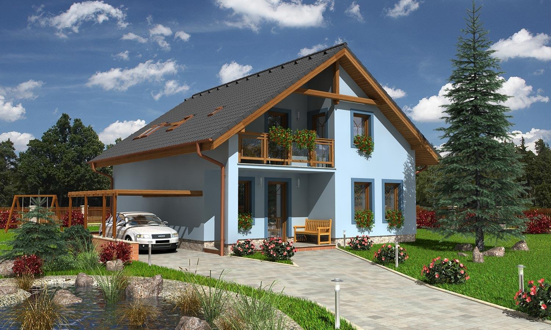 projekt domu KOMPAKT 41