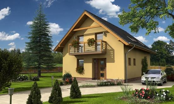 projekt domu KOMPAKT 43