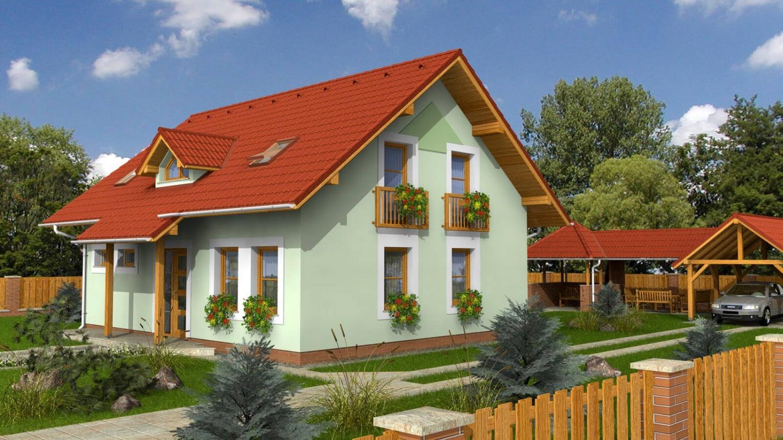 projekt domu KOMPAKT 45