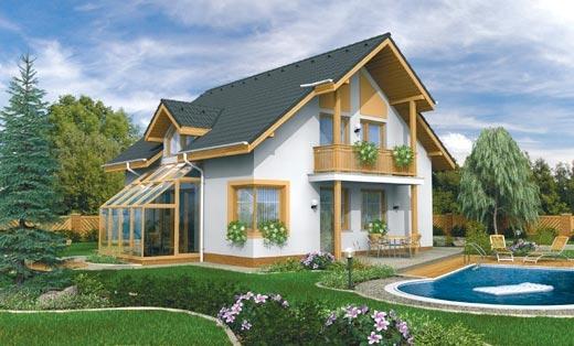 projekt domu KOMPAKT 47