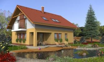Klasický rodinný dom s galériou a izbou na prízemí