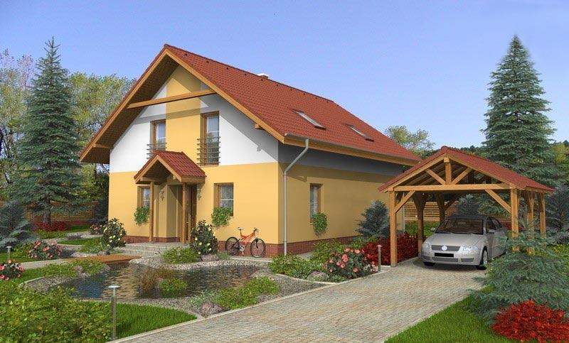 projekt domu KOMPAKT 48