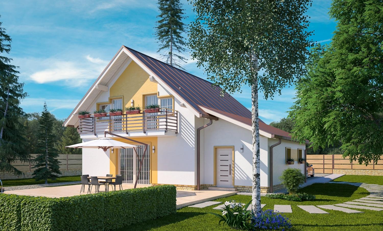 projekt domu MERKUR 3