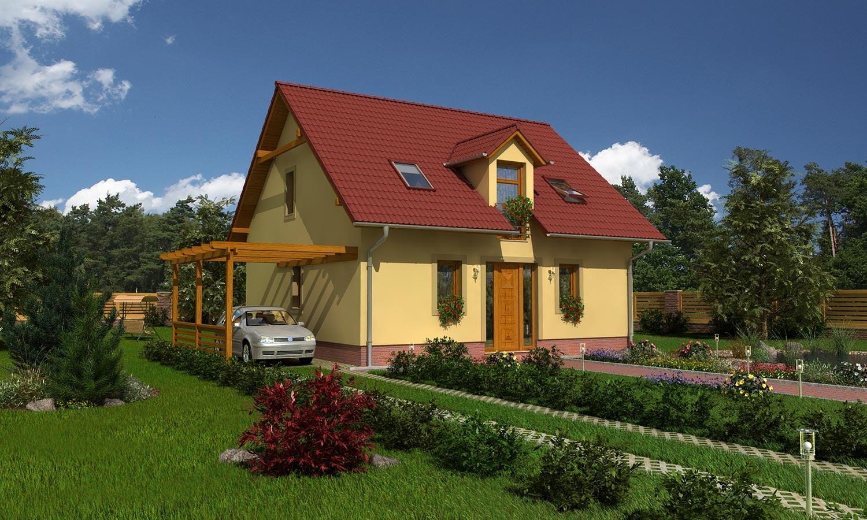 projekt domu MILENIUM 224