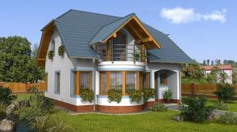 Dom na malý pozemok.