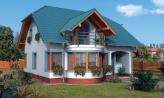 Dom na úzky pozemok a hodí sa ako dvojdom