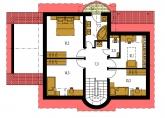 Pôdorys poschodia - MILENIUM 227