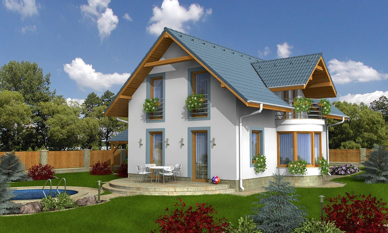 projekt domu MILENIUM 233