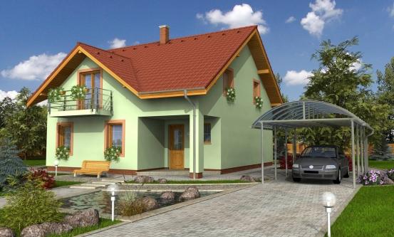 projekt domu MILENIUM 234