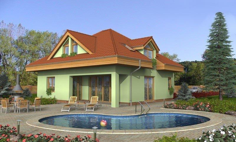projekt domu NOVA 223