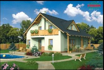 projekt domu OPTIMAL