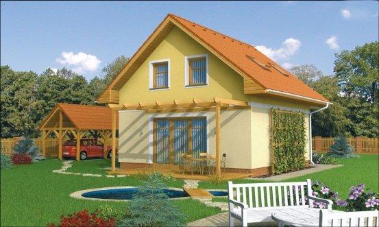 projekt domu ORION