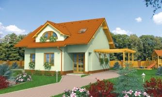 Malý praktický dom pre 4-člennú rodinu
