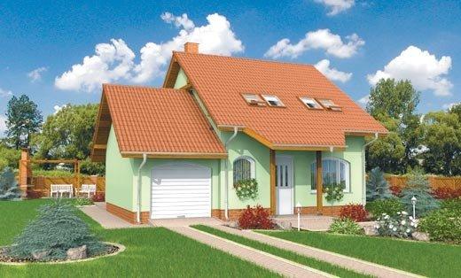 projekt domu PIEROT