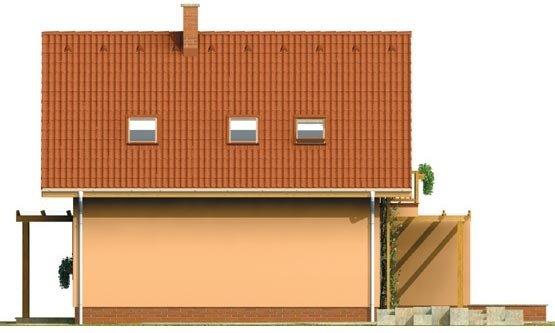 Pohľad 4. - Dom vhodný aj ako chata