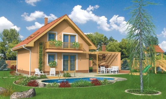 projekt domu PLUTO