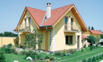 Poschodový dom s terasou