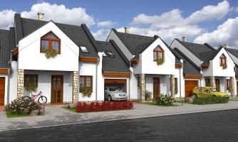 Dom vhodný do radovej výstavby