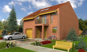 Moderný dom aj do radovej zástavby