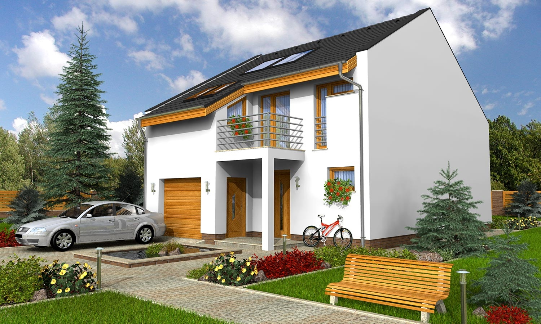 projekt domu PORTO 22