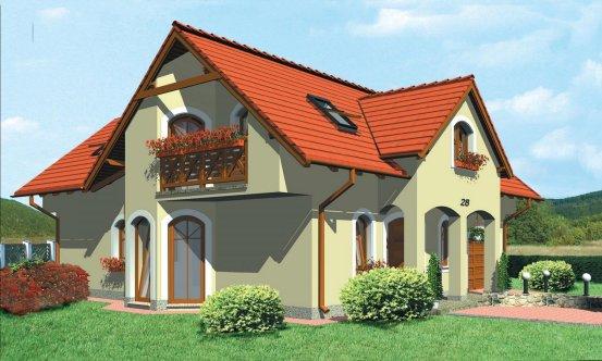 projekt domu PORTO 28