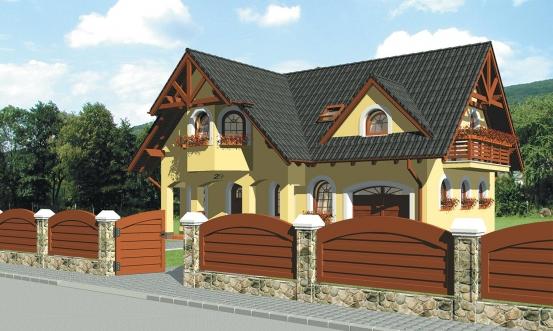 projekt domu PORTO 29