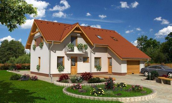 projekt domu PREMIER 100