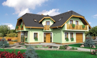 Krásny veľký dom aj so suterénom.