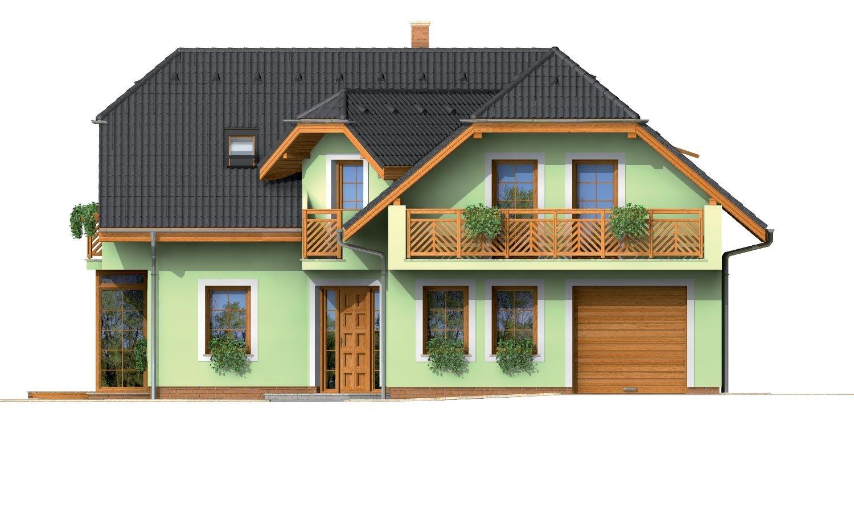 Pohľad 1. - Krásny veľký dom aj so suterénom.