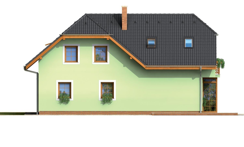 Pohľad 3. - Krásny veľký dom aj so suterénom.