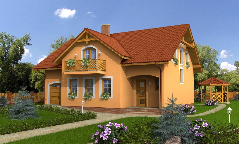 projekt domu PREMIER 150