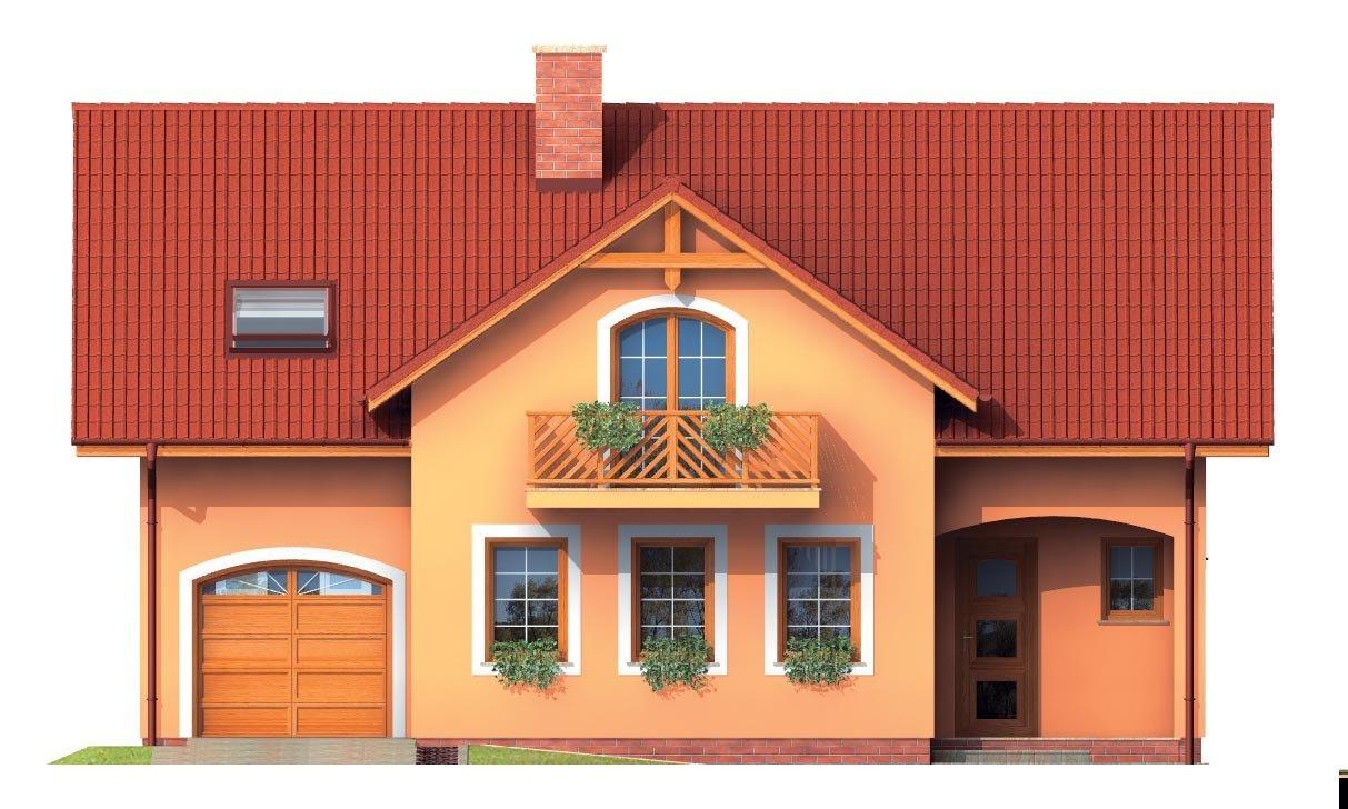 Pohľad 1. - Rodinná vila so suterénom, možnosť dvojgeneračného bývania