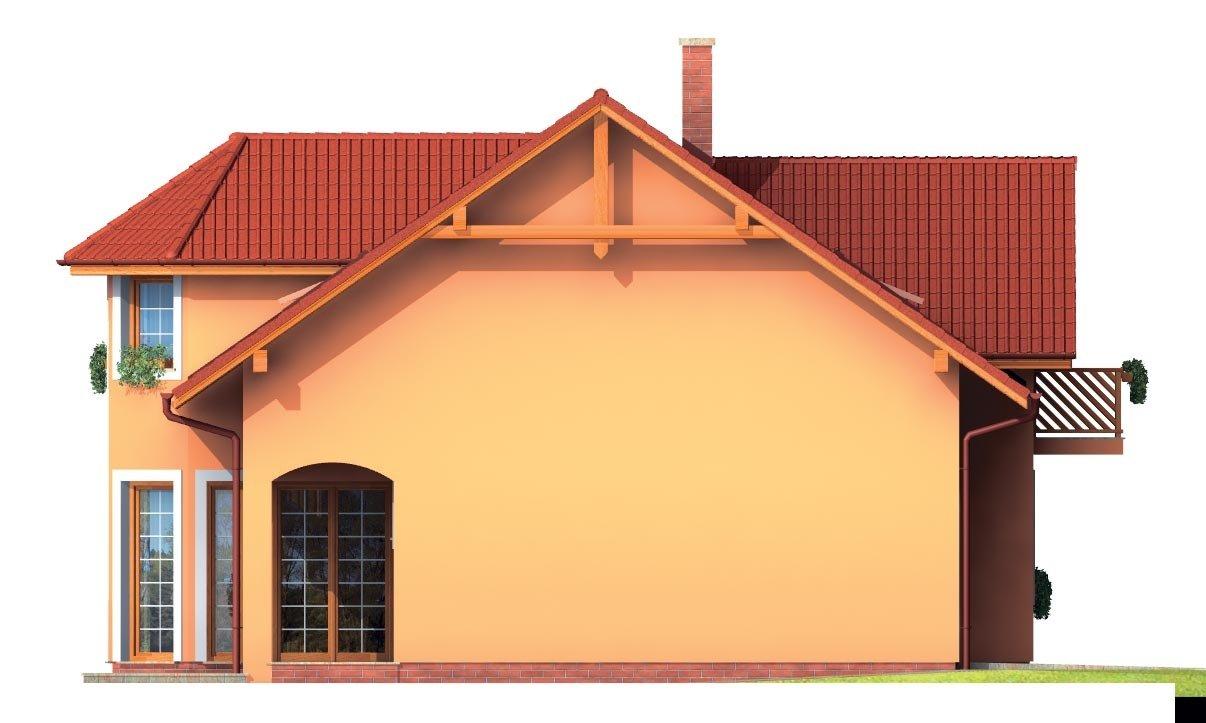 Pohľad 2. - Rodinná vila so suterénom, možnosť dvojgeneračného bývania